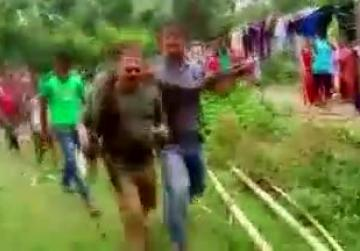 Selfie with a python goes badly for Indian forest ranger