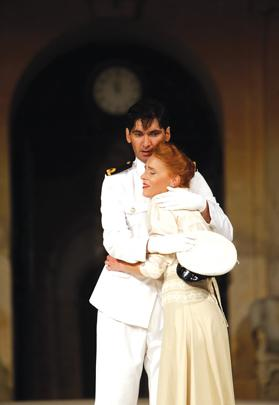 Malcolm Galea and Faye Paris provided charming central protagonists in Much Ado About Nothing.