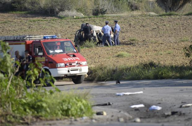 Experts concluded another passenger in the car would have had a 50% chance of also being killed in the blast. Photo: Mark Zammit Cordina