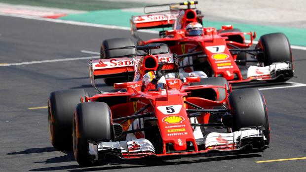Vettel, Raikkonen set to stay at Ferrari
