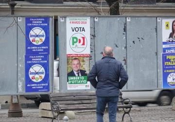 Italy's PD says might talk to 5-Star if centre-right shut out