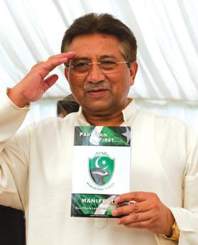 Pervez Musharraf. Photo: Reuters