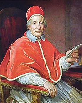 Pope Clement XII, who in 1733 decreed that the feast of Our Lady of Graces at Żabbar was in remembrance of the victory over the Ottoman Turks in the Great Seige of the 1565.