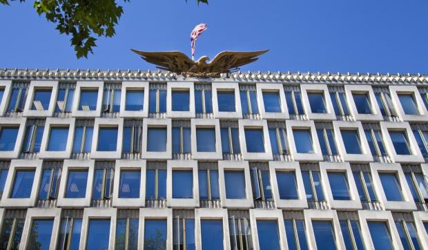 The current US Embassy. Photo: Shutterstock