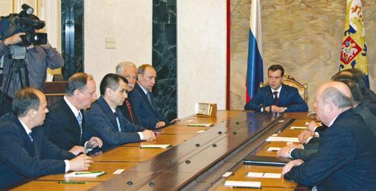 Vladimir Putin in control as Russia names Cabinet