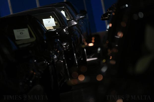 BMW's used during Malta EU Presidency were auctioned off this week on September 20. Photo : Jonathan Borg