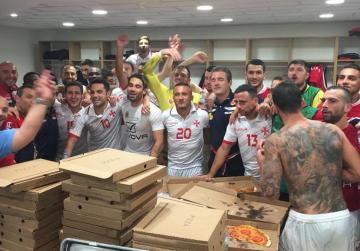 Malta football's pizzagate: lay off national team, say nutrition experts
