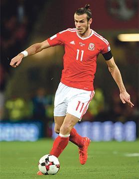 Gareth Bale... exceptional talent.