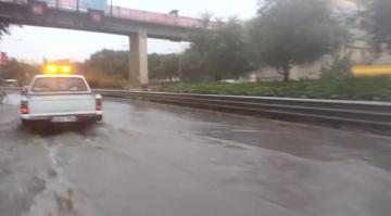 Watch: Heavy downpour floods Malta