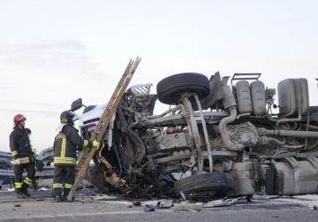 Maltese trucker dies in Italian motorway crash