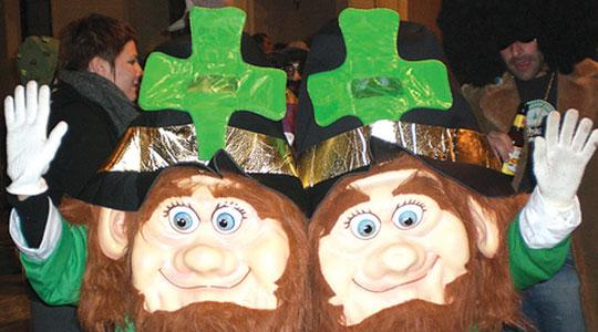 A couple of revellers during last year's Nadur carnival. Photo: Local council website