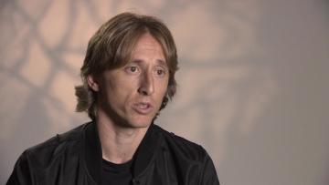 Watch: Modric still working towards peak fitness | Video: AFP