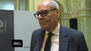 Watch: 'No opinion whatsoever' on 17 Black - Edward Scicluna | Video: Mark Zammit Cordina
