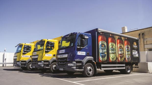 : By end 2019, the majority of Farsons distribution trucks will have Euro 5 or 6 emission standards.