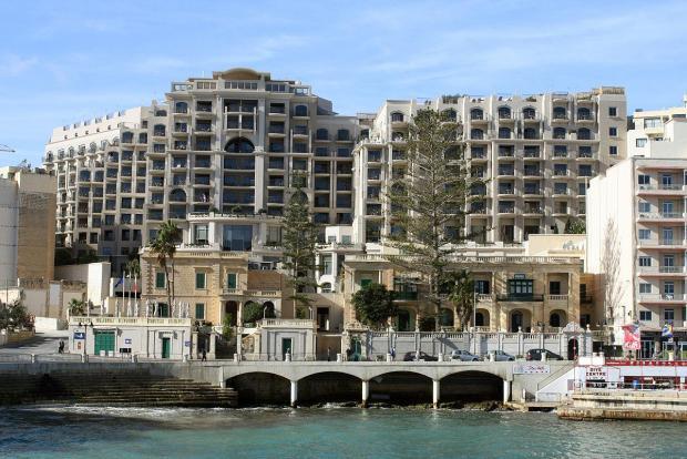 Meridien Hotel St Julians Bay Malta