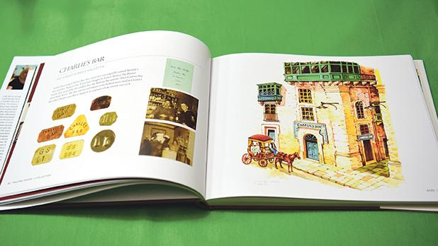 The book features illustrations by George Apap.