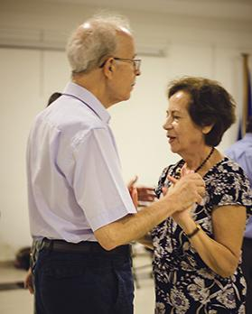 Research has shown that dance classes a beneficial effect on people with Parkinson's disease and their caregivers.