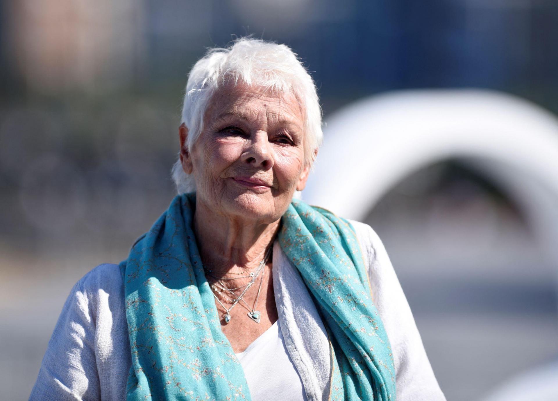 Judi Dench also forms part of the stellar cast of 'Belfast'. Photo: Ander Gillenea/AFP