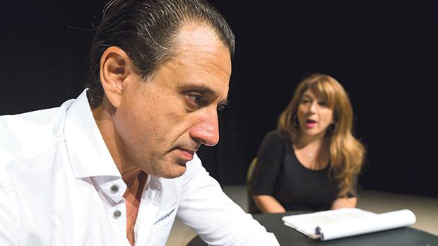 The play will feature the original cast: Pia Zammit and Mikhail Basmadjian. Photo: Darrin Zammit Lupi