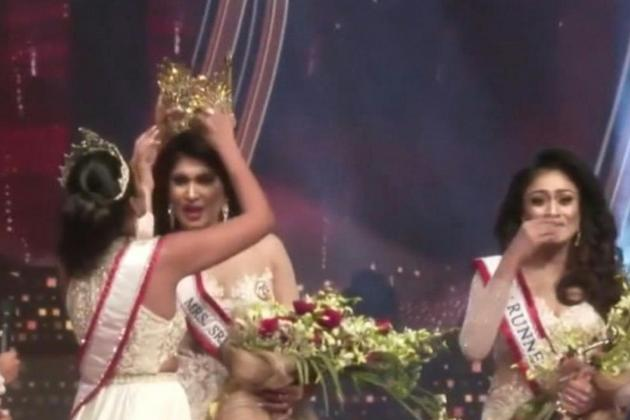 Police arrest Mrs World over assault at beauty contest in Sri Lanka