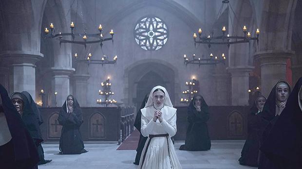 Taissa Farmiga in The Nun.