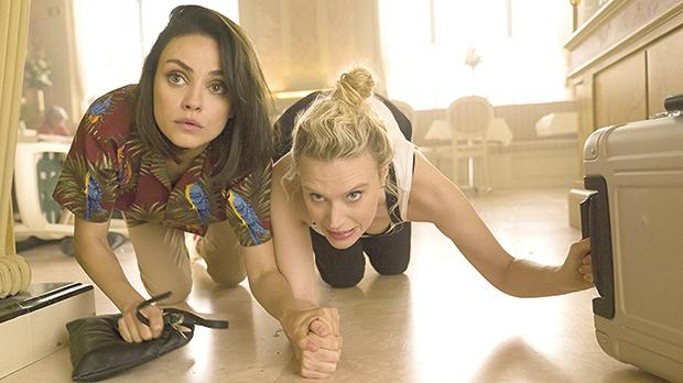 Mila Kunis and Kate McKinnon get caught in the crosshairs of an espionage sting in The Spy Who Dumped Me.