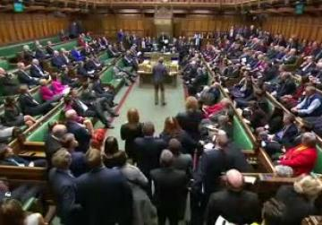 Watch: British lawmaker ejected from parliament for seizing ceremonial mace