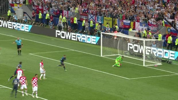 Watch: France overpower Croatia 4-2 to win World Cup