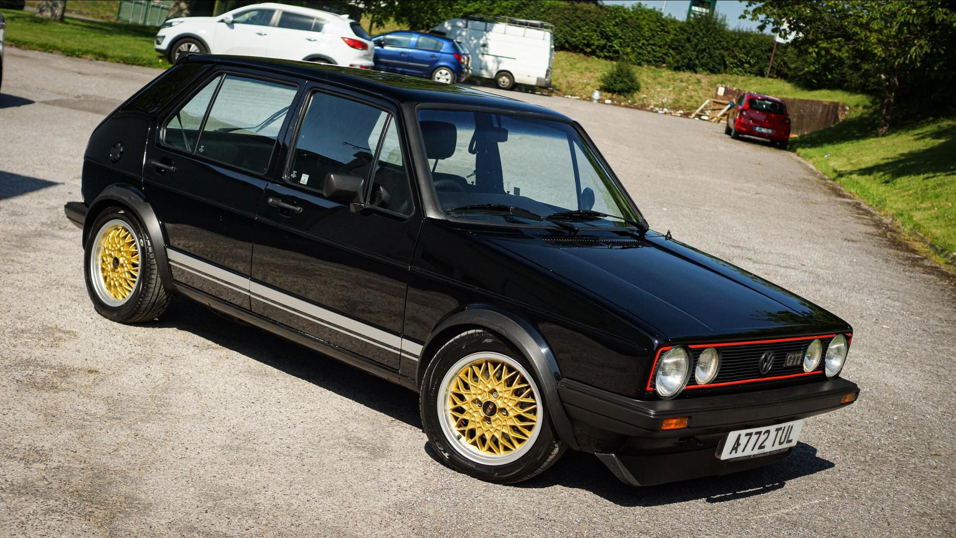 The MK1 Volkswagen Golf GTI has proved popular at auction.