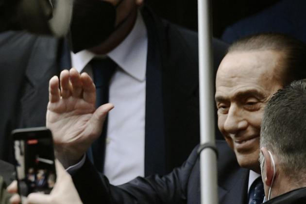 Italy's ex-PM Silvio Berlusconi hospitalised again