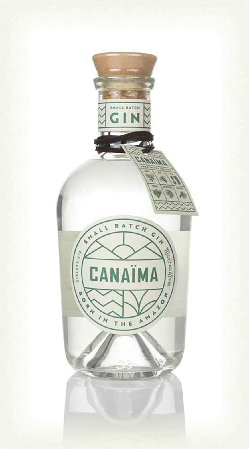 Canaïma Gin uses 19 botanicals, some of which are native to the Amazon.