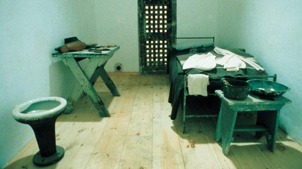 A restored cell. Photo: Tom Berault