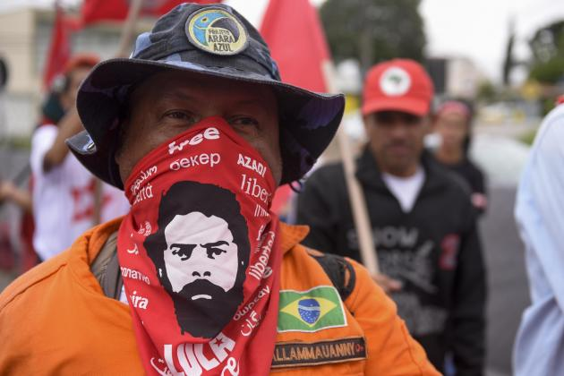Brazil's leftist icon Lula walks free from jail