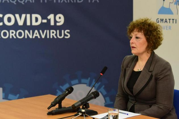 Charmaine Gauci's weekly COVID-19 briefings are 'no longer needed'