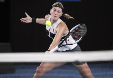Watch: Red-hot Kvitova makes Open final