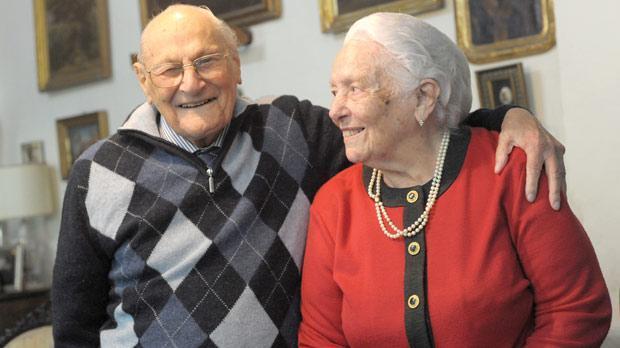 Censu and Maria Tabone in 2012.