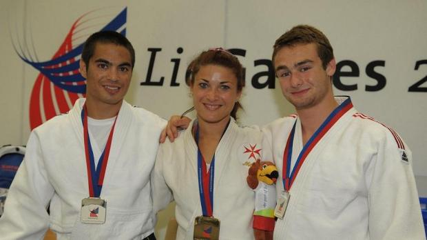 Brent Law(left Silver), Joanna Camilleri (middle – Bronze) Jeremy Saywell (Silver right)