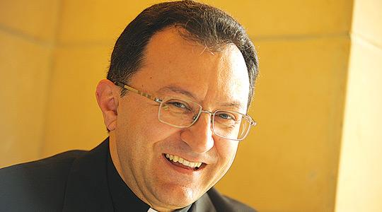 "Mgr Joseph Spiteri: his appointment comes at a time of ""great hope"" for Sri Lanka."