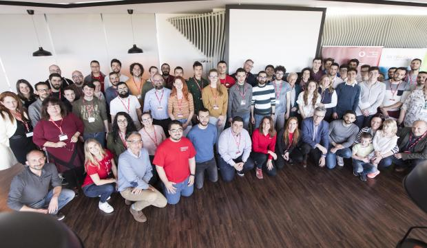The people who were part of Malta's first hackathon for a social cause: 11 participating teams, seven NGOs and scores of Vodafone volunteers.