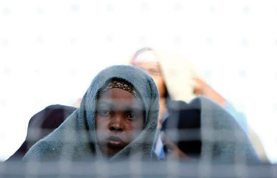 "Immigrants spoke of ""appalling"" detention conditions in Libya. Photo: Darrin Zammit Lupi"