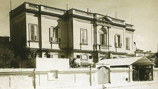 The Central Hospital at Floriana where infected prostitutes were treated.