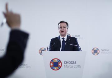 Cameron insists on unity government for Libya; thanks Malta