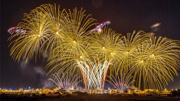 Mqabba fireworks. Photo: Robert Agius