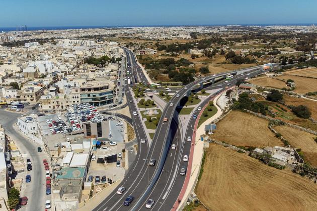 Multi-level junction for Luqa roundabout planned