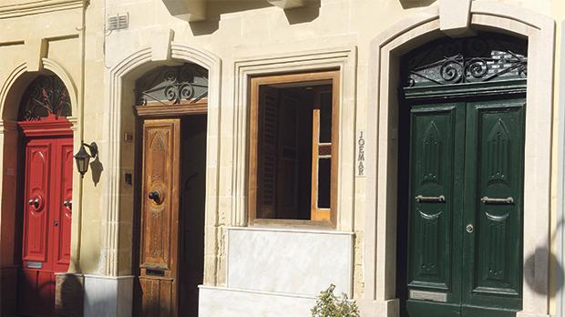 The office of the Community Work Scheme Enterprise Foundation in Parish Priest Muscat Square, Ħamrun. Photos: Steve Zammit Lupi