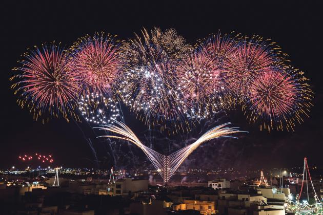 Meet the team behind Mqabba's dramatic fireworks display