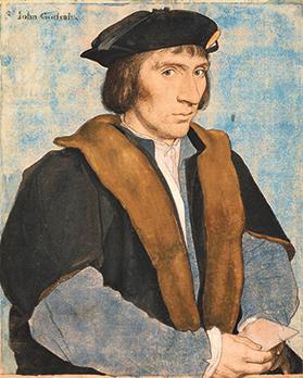 Sir John Godsalve by Hans Holbein the Younger c.1532-4. Copyright: Royal collection trust her majesty Queen Elizabeth ii 2017