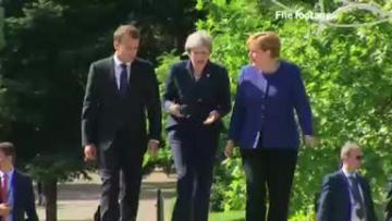 Britain presses for more EU sanctions against Russia   Video: Reuters