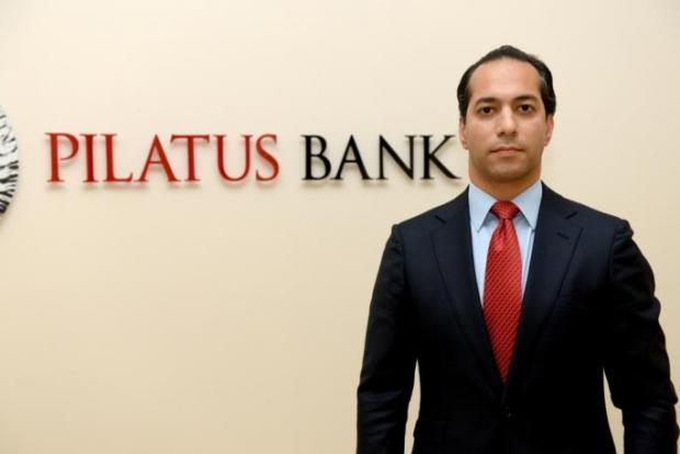 Pilatus Bank chairman Sayed Ali Sadr Hasheminejad.