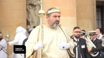 Watch: 150 years of the Good Friday procession in Mosta | Mario Riolo, from the organising committee, and participants Claudio Spiteri and Marthese Mifsud speak about the procession. Video: Mark Zammit Cordina